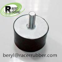 Wholesale molded rubber metal bumper with screw from china suppliers