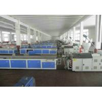Wholesale WPC PVC Skirting Board Production Line , Double Screw Extruder from china suppliers