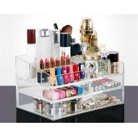 Wholesale Makeup Cosmetics Jewelry Organizer Clear Acrylic 3 Drawers Display Box Storage from china suppliers