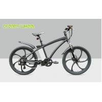 "Wholesale Black 26"" Electric Mountain Bicycle Magnesium Alloy Complete Wheel Motor For Man from china suppliers"