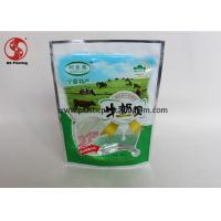 Wholesale Food Packaging Ziplock Stand Up Bags And Pouches With Window Gravure Printing from china suppliers