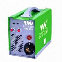 Wholesale Inverter MIG welder with IGBT, wire feeder inside, 240V single-phase input, 5.0kg rolls from china suppliers