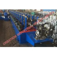 Wholesale Horizontal Bracket Rack Roll Forming Machine With Hydraulic Post Cutting from china suppliers