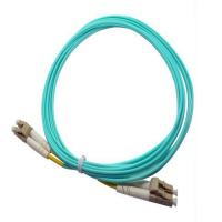 Wholesale LC / PC  Aqua  Multimode OM3 Optical Fiber  patch cord for communication from china suppliers
