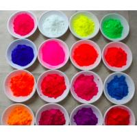 Buy cheap fluorescent pigment /daylight fluorescent pigment for leather /garment from wholesalers