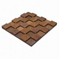 Wholesale Ceramic Tiles/Mosaic, Red Stone, Color will Not be Faded, Suitable for Wall Decoration from china suppliers