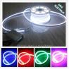 Buy cheap Shenzhen led lighting10*18mm full color changing RGB led neon tube 220v UV resistance from wholesalers