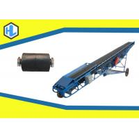 Wholesale Long Troughed Pneumatic Belt Conveyor , Loading / Unloading Belt Conveyor from china suppliers