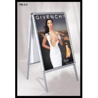 Wholesale Advertising double sided Aluminium display stand , poster stand A board from china suppliers