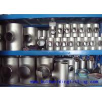 Wholesale Stainless Steel Tee Butt Welding Tee ASTM A403 ASME B16.9 WPXM-19 from china suppliers