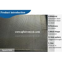 decorative metal galvanized perforated sheet Guangzhou factory direct wholesale(Guangzhou Factory)