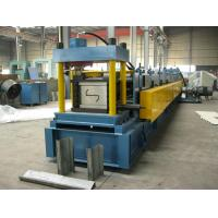 Wholesale ISO Sheet Metal Z Purlin Roll Forming Machine For 1.5MM - 3.0mm Purlin from china suppliers