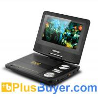 Wholesale 7 Inch Swivel Screen Portable DVD Player (CD Copy, Analog TV, AV In & Out) from china suppliers
