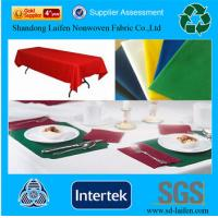 Wholesale Waterproof disposable TNT table cover from china suppliers