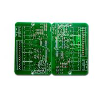 Wholesale 2 Layer PCB Prototype Board , Printed Circuit Board Manufacturers Green Solder Mask from china suppliers