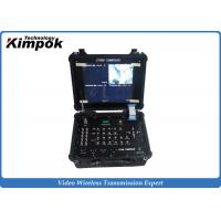 Wholesale 4 Channels Digital COFDM Receiver Box Wireless LCD Recorder 17 Inch from china suppliers