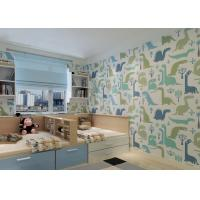 Wholesale Cartoon Monster Little Boys Bedroom Wallpaper / Modern Nursery Wallpaper For Decoration from china suppliers