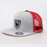 Wholesale Sports Type 6 Panel Trucker Cap , Customized Sticker Mens Snapback Trucker Hats from china suppliers