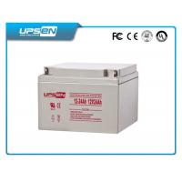 Wholesale 2V / 12V DC Solar AGM Deep Cycle Sealed Lead Acid Battery With 8 - 12 Years Lifetime from china suppliers