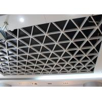 Wholesale Wide Suspension Grid Metal Ceiling , Grille Open Cell Ceiling Tiles from china suppliers