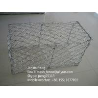 Wholesale hexagonal hole mesh heavy type gabion box from china suppliers