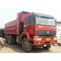 Wholesale 6*4 HOWOused sinotruck china  2012 5000  hours  dump truck for sale 371HP  10 Tires from china suppliers