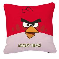 "Wholesale 18"" personalized Sofa Throw Pillows printed with angry birds , red from china suppliers"