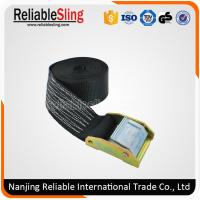 Wholesale Ratchet Cam Buckle Lashing Straps / Heavy Duty Cam Buckle Straps EN12195-2 from china suppliers