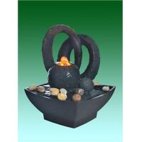 "Wholesale Home Collection 8.5"" Small Desk Water Fountain With River Stone from china suppliers"