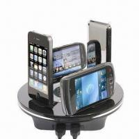 Wholesale Multifunctional Mobile Phone Charger Station, Includes iPhone 3G/S, Nokia Mini and AC Cable from china suppliers