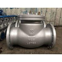 "Wholesale Flanged 300 Lbs RF STL 13Cr Trim BB check valve swing type Dia 3"" Mat ASTM A 216 Grade WCB from china suppliers"