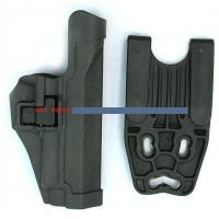 Wholesale Tactical Riot Police Gear Thumb Break Holster P226 with Button Lock from china suppliers