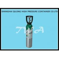 Wholesale 10L AA6061 Aluminum Gas Cylinder / refillable aluminum oxygen tank from china suppliers