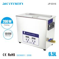 Wholesale JP - 060S 15L Stainless Steel Benchtop Ultrasonic Cleaner with SUS304 basket and lid from china suppliers