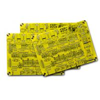 Wholesale FR4 PCB Board Fabrication, HASL finishing and Yellow Solder Mask White screen from china suppliers