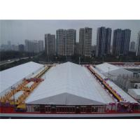 Wholesale Big Outdoor Exhibition Tents White PVC Fabric For Events / Parties from china suppliers