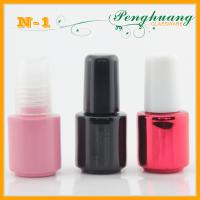 Wholesale Black Empty Glass Nail Polish Containers 5ml With Brush from china suppliers