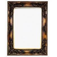 Wholesale black brown framed wood wall mirror from china suppliers