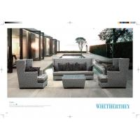 Wholesale garden sofa set patio Outdoor Rattan Sofa hotel sofa from china suppliers