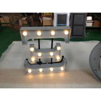 """Wholesale Holidays Decor 12"""" LED Lighted Channel Letters , Indoor Metal Letters With Lights from china suppliers"""