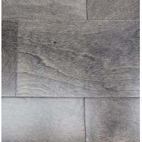 Wholesale Birch wood flooring, grey color, smooth surface, semi-gloss from china suppliers
