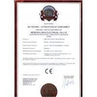 Wenzhou Xika Electrical Co., Ltd. Certifications