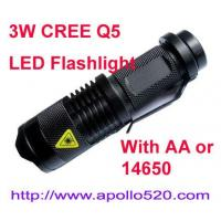 Wholesale 3W LED Flashlight from china suppliers