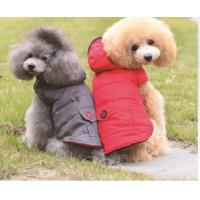 Buy cheap Personalized Dog Clothes Red Color For Cool Weather And Winter Dog Coats from wholesalers