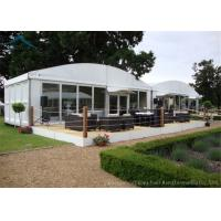 Wholesale Dome White Marquee Tents Aluminium  Fireproof PVC Roof  For Exhibition from china suppliers