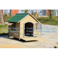 Wholesale Wooden dog house, wooden kennel, wooden kennel, a waterproof wooden dog house from china suppliers