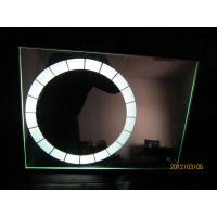 Wholesale Modern Hotel round bath mirror  with white color lighted source from china suppliers