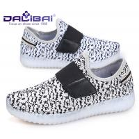 Wholesale Microfiber Upper LED Casual Shoes / kids shoes that light up on the bottom from china suppliers