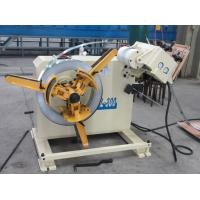 Wholesale Coil Feed Line -2 In 1 Decoiler Strip Straightener Machine For Roll Material from china suppliers