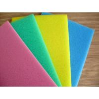 Wholesale Pink / White Packaging Open Cell Foam Block Good Ventilation Fine Pored Dust Proof from china suppliers